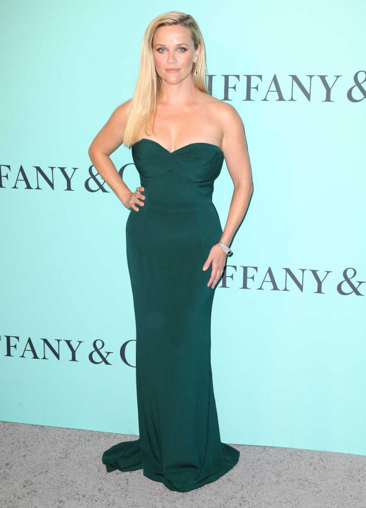 Reese Witherspoon at the Tiffany and Co. 2017 Blue Book Collection Gala in New York City 04/21/2017-1