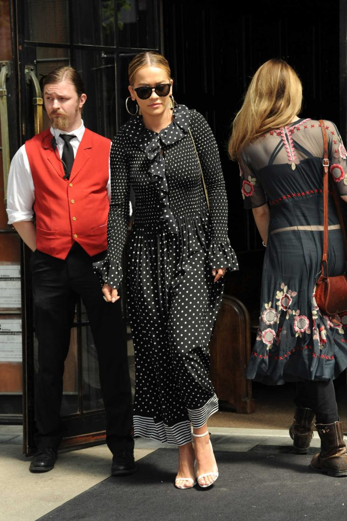 Rita Ora Leaves Her Hotel in New York City 04/28/2017-1