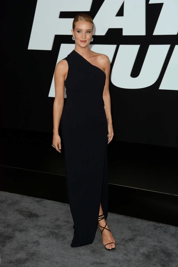 Rosie Huntington-Whiteley at The Fate of the Furious Premiere in New York 04/08/2017-1
