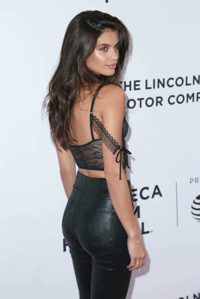 Sara Sampaio at The Clapper Screening in New York 04/23/2017-4