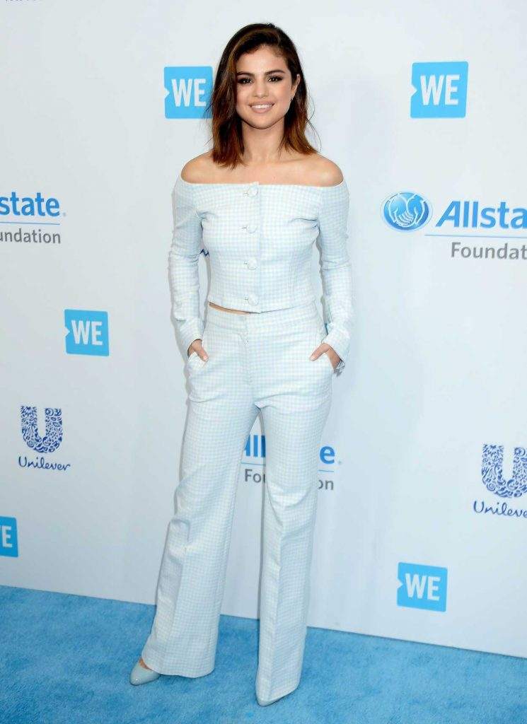 Selena Gomez at WE Day California in Los Angeles 04/27/2017-1