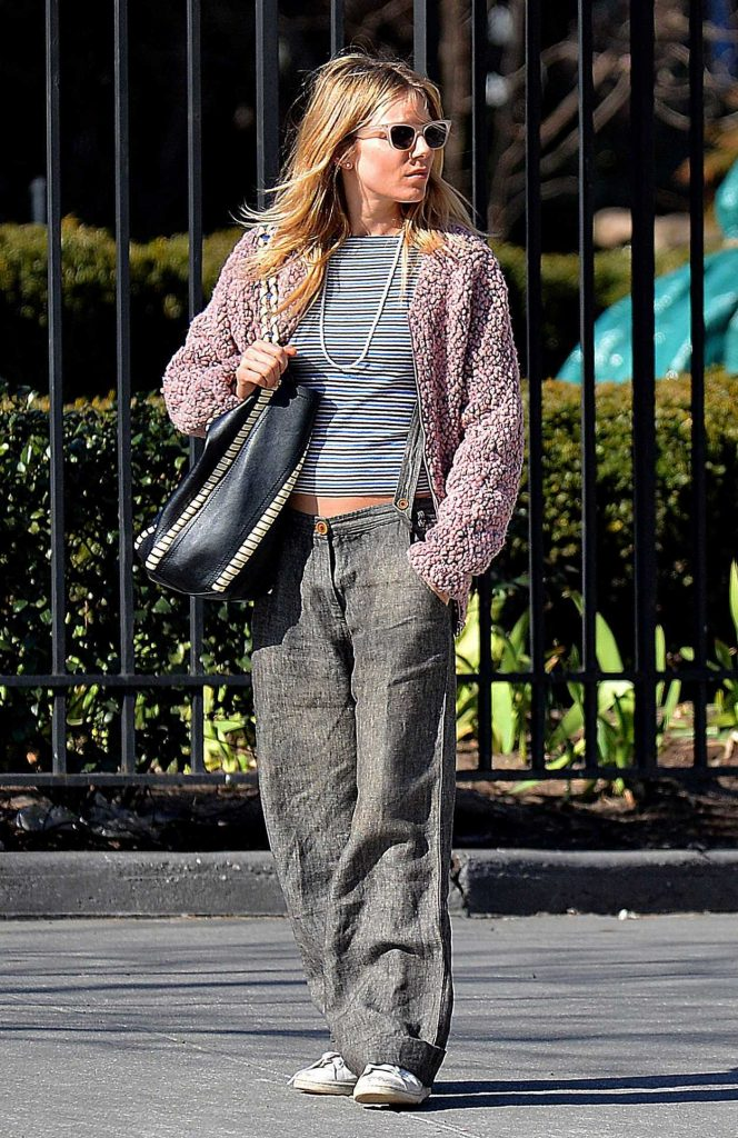 Sienna Miller Was Spotted Out in New York City 03/31/2017-2