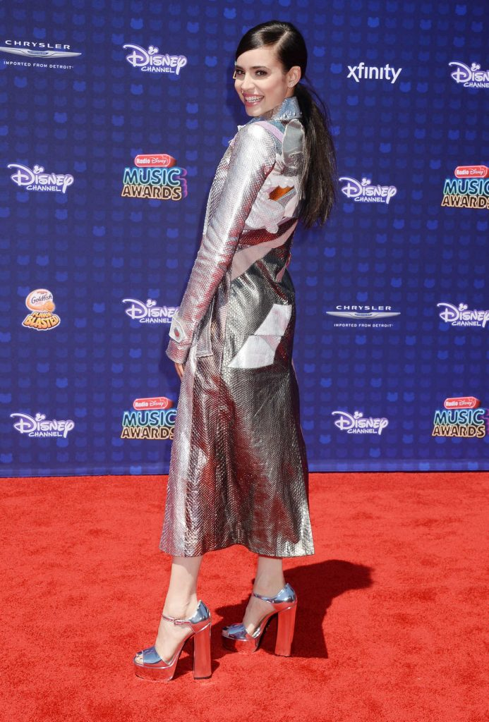 Sofia Carson at the 2017 Radio Disney Music Awards in Los Angeles 04/29/2017-3