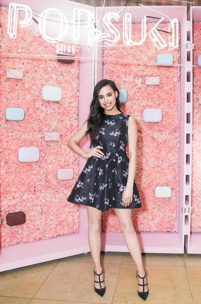 Sofia Carson at the Pop and Suki Collection 2 Event at Sunset Tower Hotel in Los Angeles 04/19/2017-1