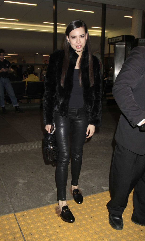 Sofia Carson Was Seen at LAX Airport in Los Angeles 04/12/2017-2