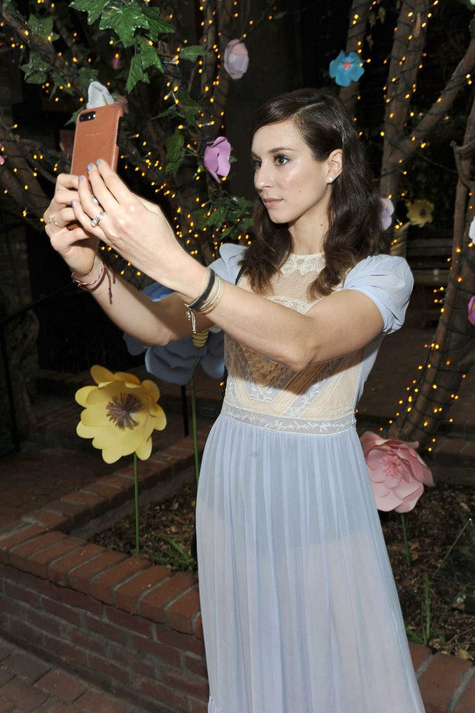 Troian Bellisario at the Burt's Bees' 2017 Bring Back the Bees Campaign Launch in New York 04/06/2017-5