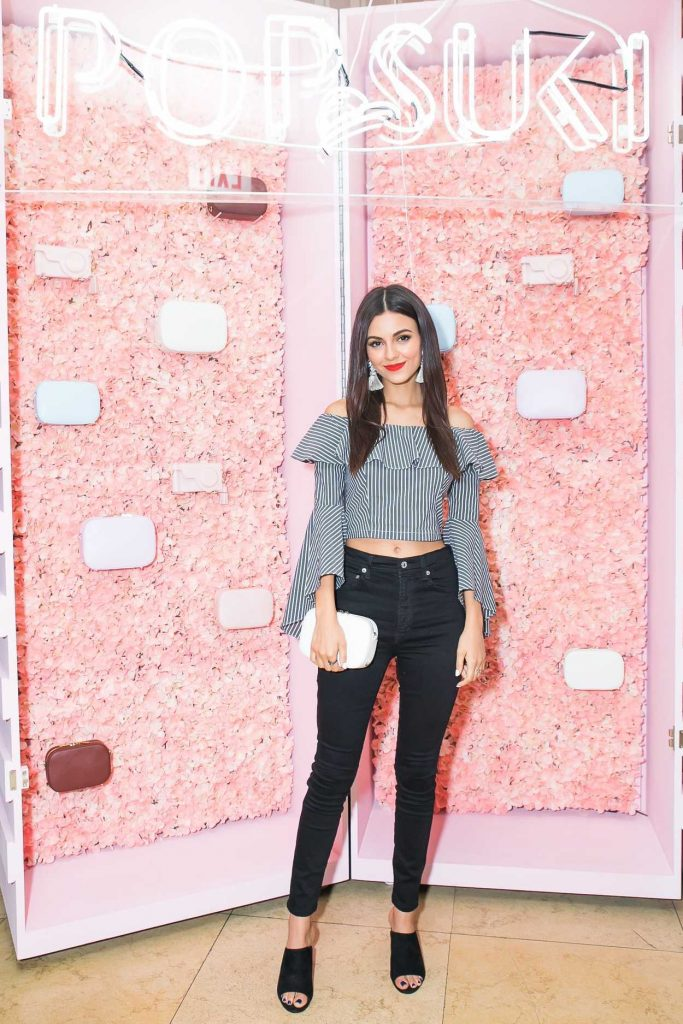 Victoria Justice at the Pop and Suki Collection 2 Event at Sunset Tower Hotel in Los Angeles 04/19/2017-1
