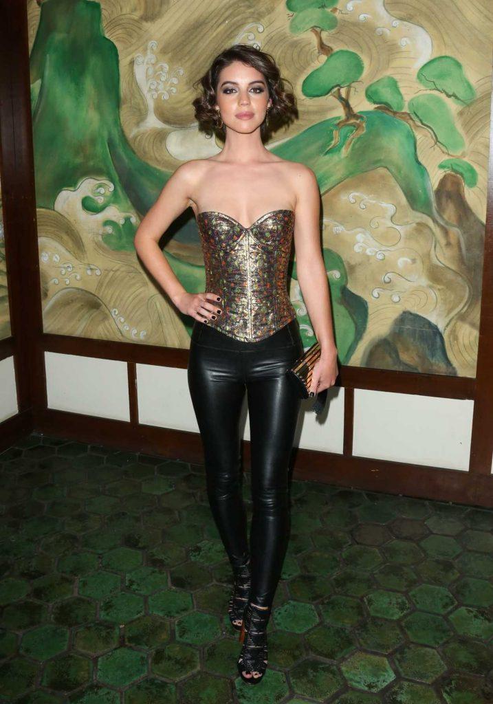 Adelaide Kane at the Wolk Morais Collection 5 Fashion Show 05/22/2017-1