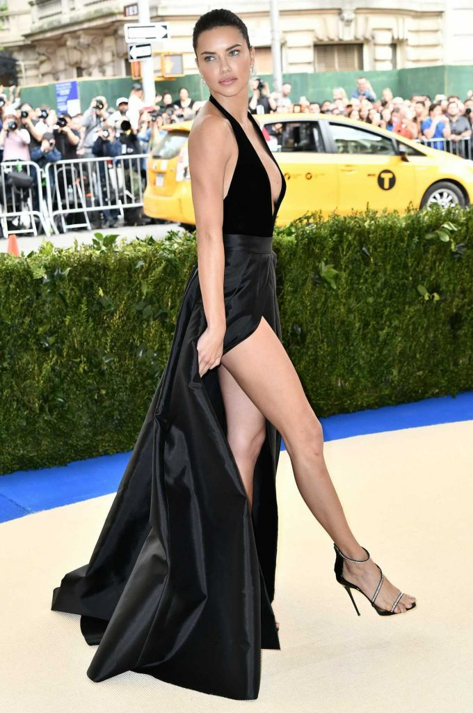 Adriana Lima at the 2017 Met Gala at The Metropolitan Museum of Art in New York 05/01/2017-3