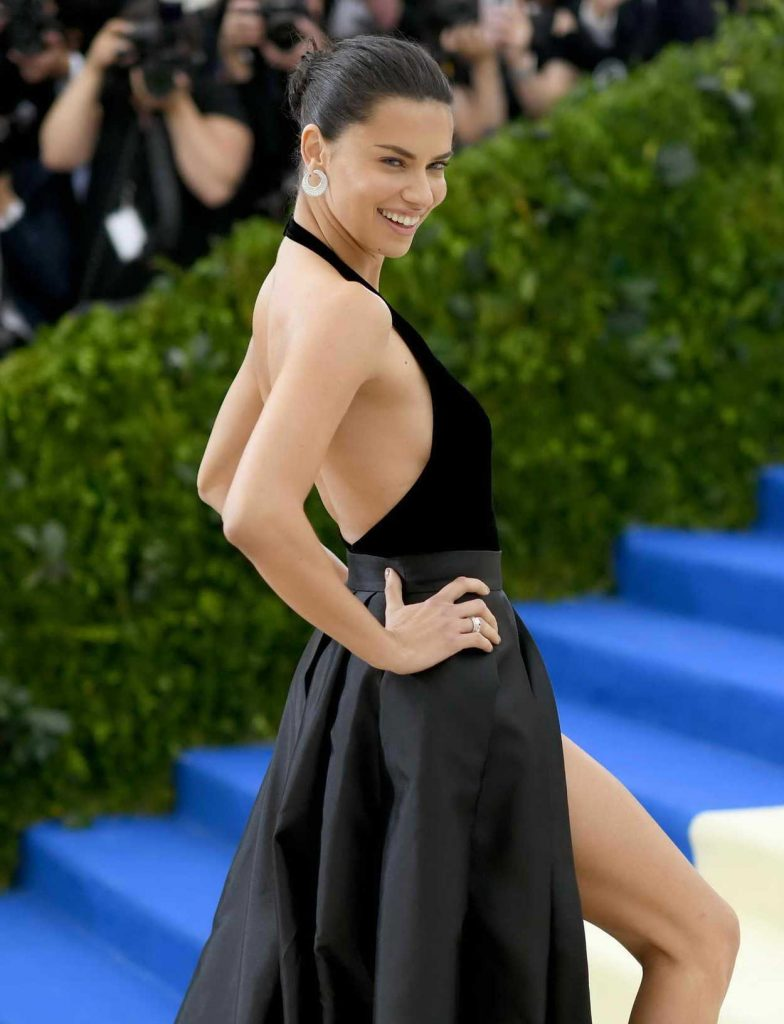 Adriana Lima at the 2017 Met Gala at The Metropolitan Museum of Art in New York 05/01/2017-5