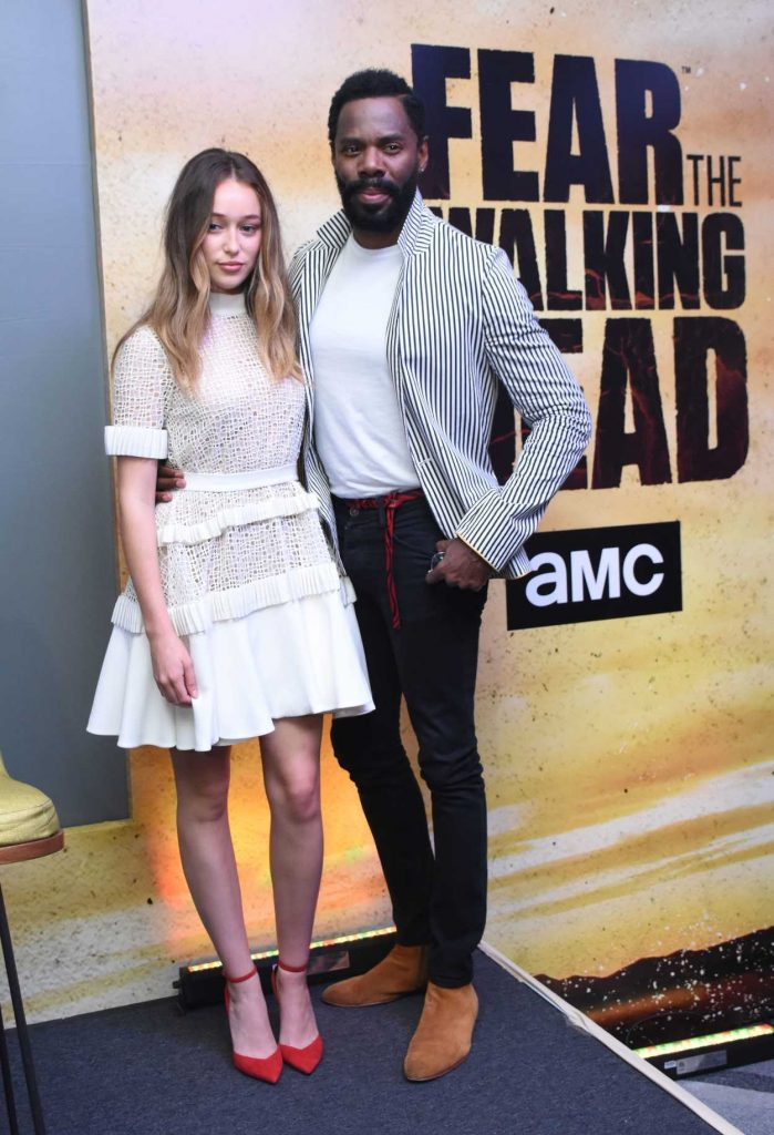Alycia Debnam Carey at the Fear the Walking Dead TV Show Photocall in Mexico City 05/30/2017-1