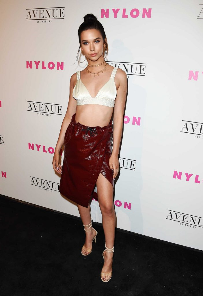 Amanda Steele at the Nylon Young Hollywood Party in Los Angeles 05/02/2017-1