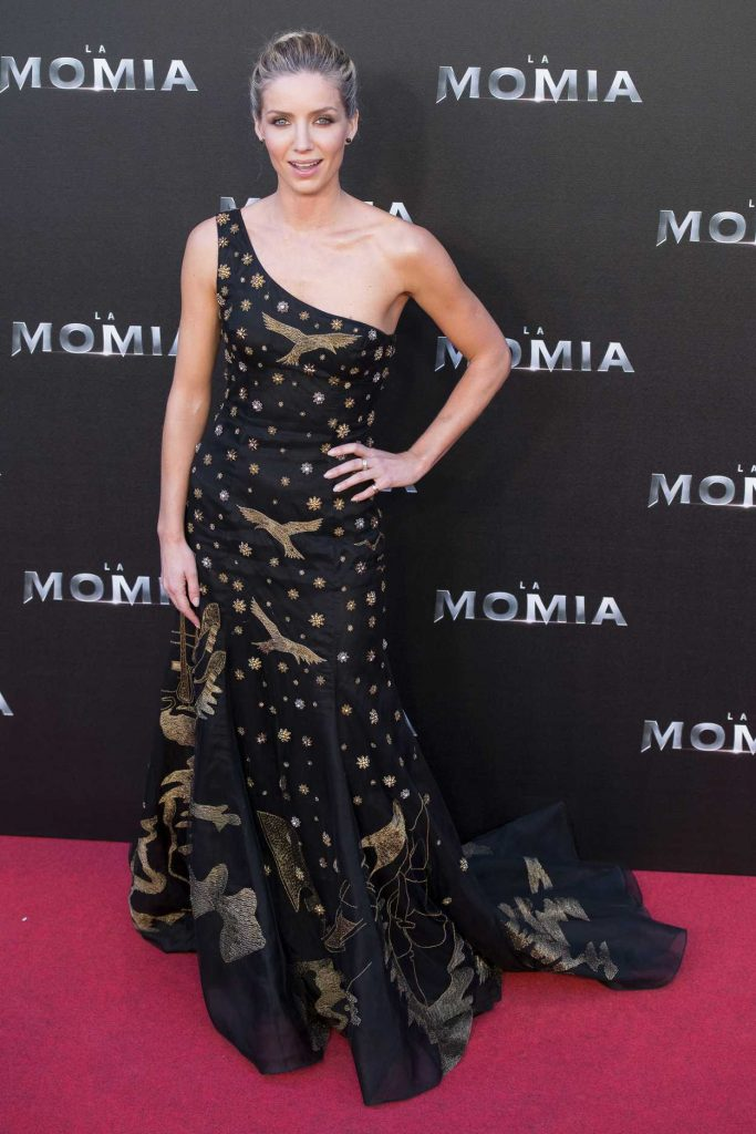 Annabelle Wallis at The Mummy Premiere in Madrid 05/29/2017-1
