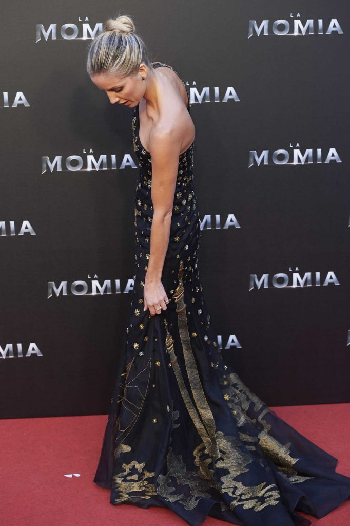 Annabelle Wallis at The Mummy Premiere in Madrid 05/29/2017-3