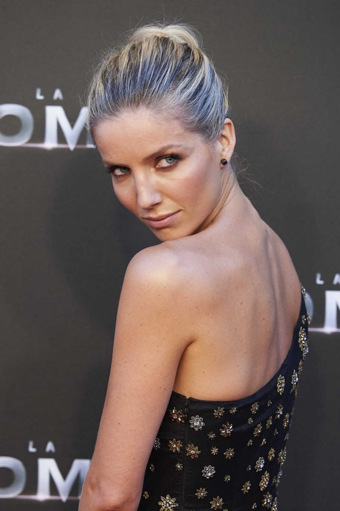 Annabelle Wallis at The Mummy Premiere in Madrid 05/29/2017-4