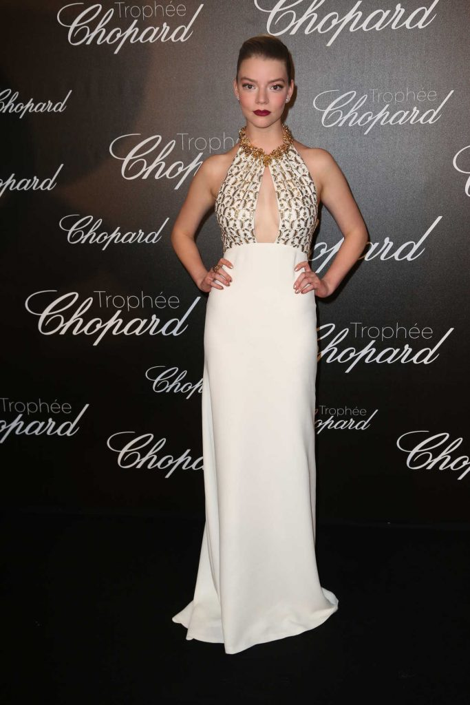 Anya Taylor-Joy at the Chopard Trophy Event in Cannes 05/22/2017-1