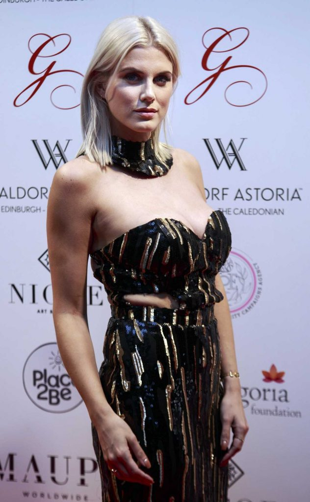 Ashley James at the 2017 Edinburgh Global Gift Gala 05/17/2017-3