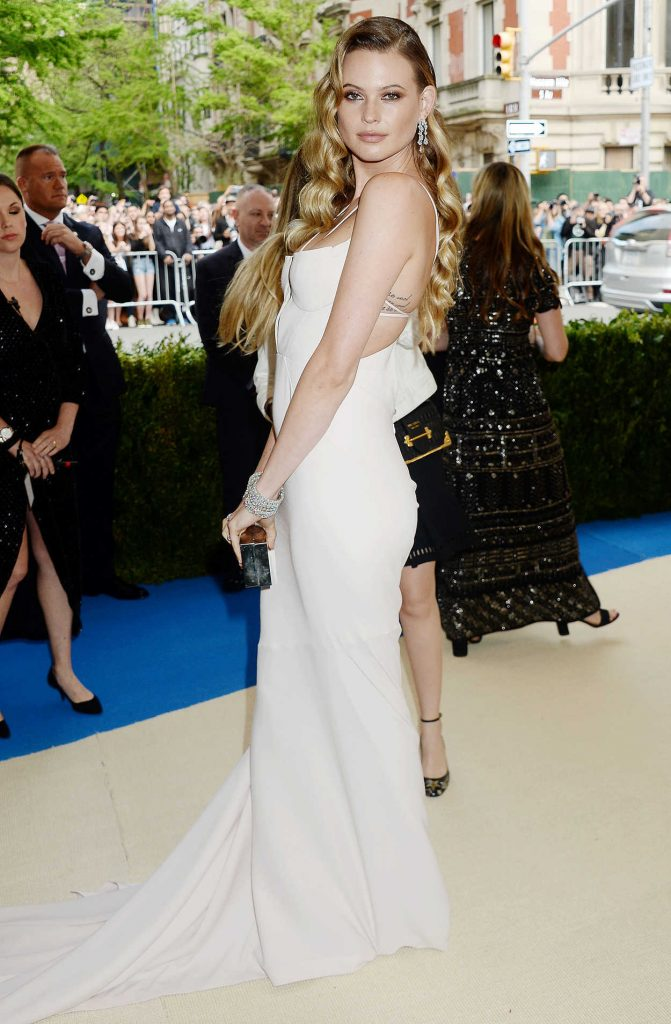 Behati Prinsloo at the 2017 Met Gala at The Metropolitan Museum of Art in New York 05/01/2017-2