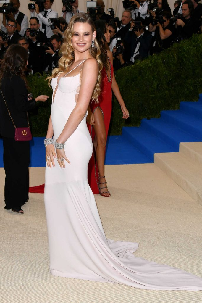 Behati Prinsloo at the 2017 Met Gala at The Metropolitan Museum of Art in New York 05/01/2017-3