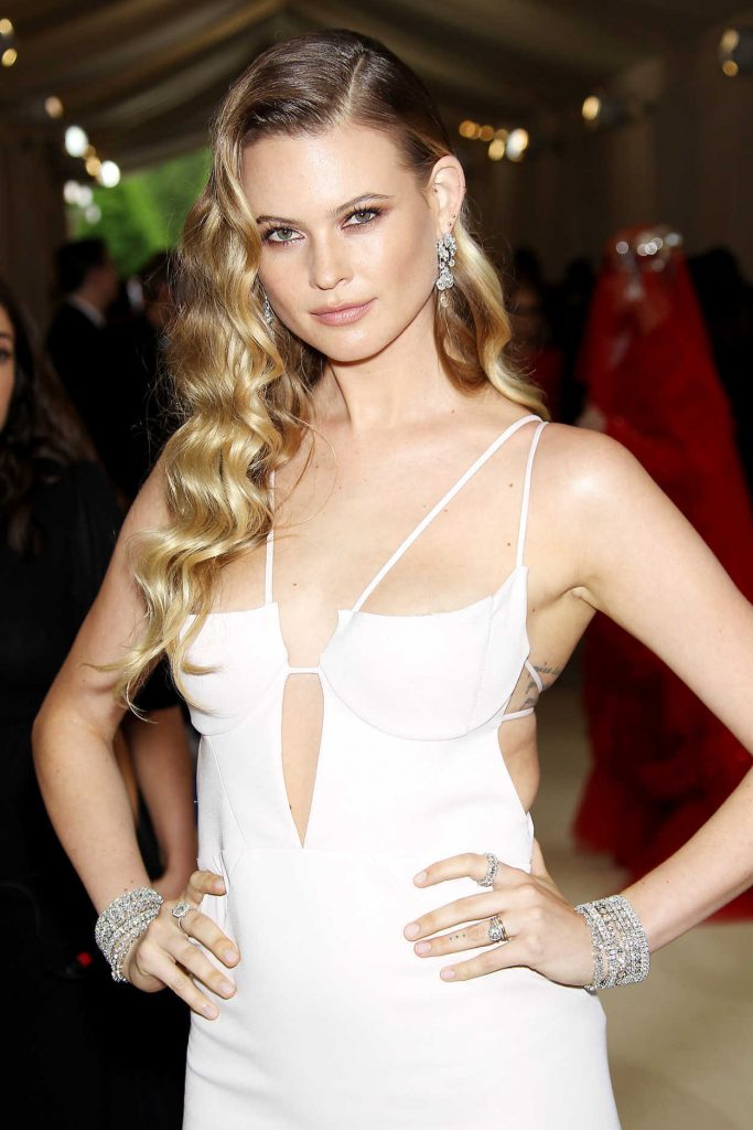Behati Prinsloo at the 2017 Met Gala at The Metropolitan Museum of Art in New York 05/01/2017-4