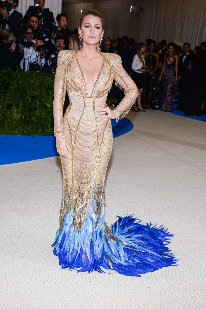 Blake Lively at the 2017 Met Gala at The Metropolitan Museum of Art in New York 05/01/2017-1