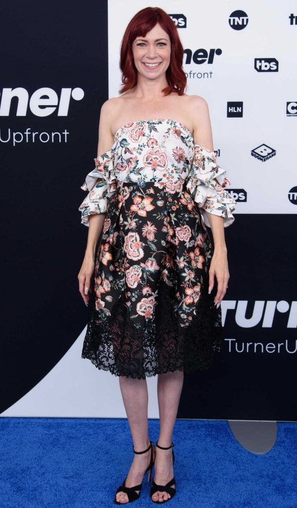 Carrie Preston at the Turner Upfront Presentation in New York 05/17/2017-1
