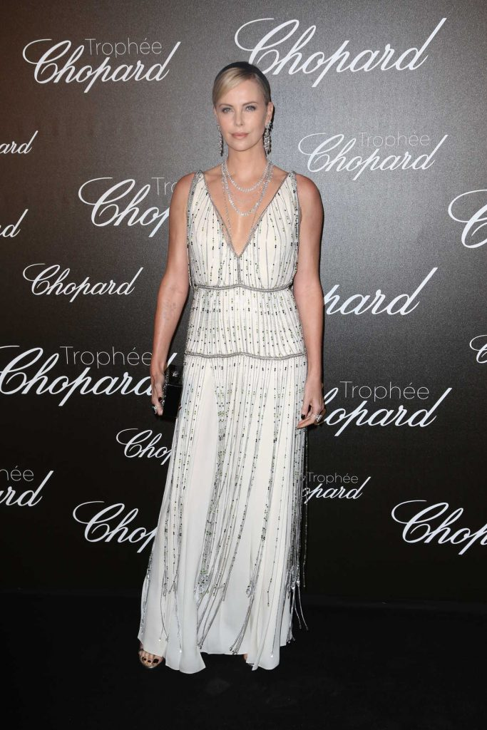 Charlize Theron at the Chopard Trophy Event in Cannes 05/22/2017-1