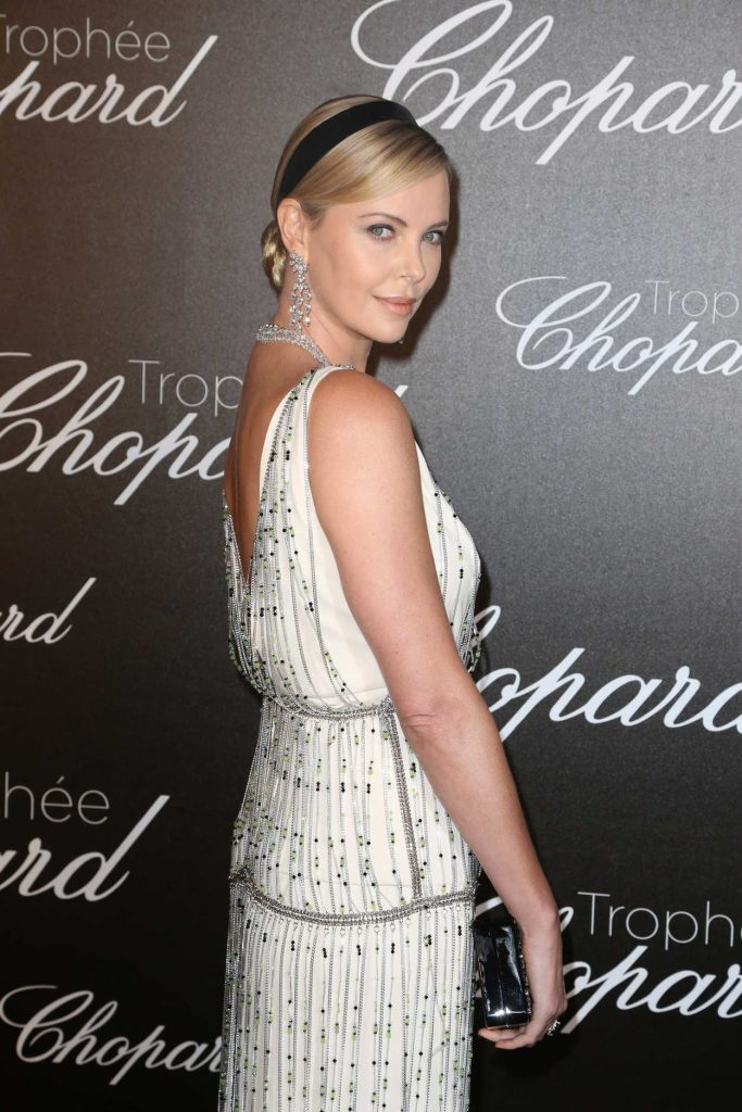 Charlize Theron at the Chopard Trophy Event in Cannes 05/22/2017-4