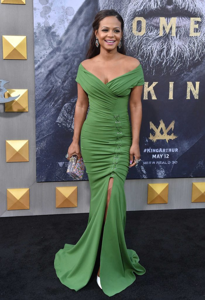 Christina Milian at the King Arthur: Legend of the Sword Premiere in Hollywood 05/08/2017-1