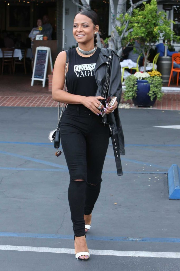 Christina Milian Was Seen Out in Los Angeles 05/10/2017-1