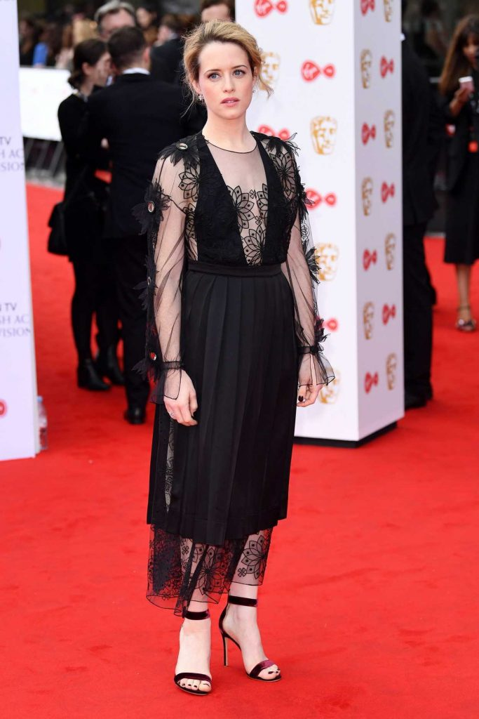 Claire Foy at he 2017 British Academy Television Awards in London 05/14/2017-2