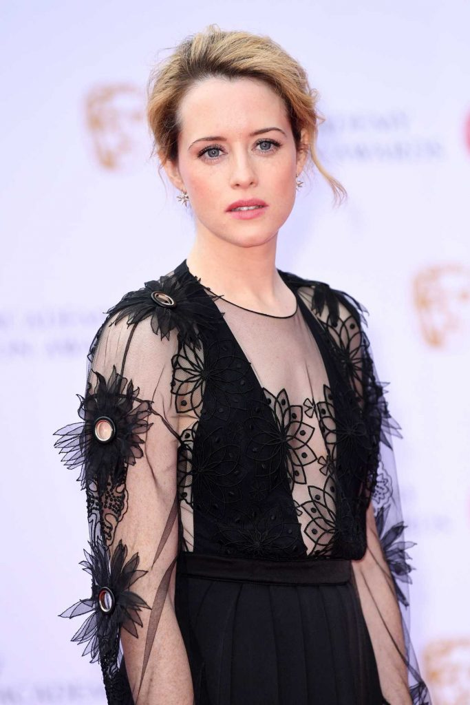 Claire Foy at he 2017 British Academy Television Awards in London 05/14/2017-4