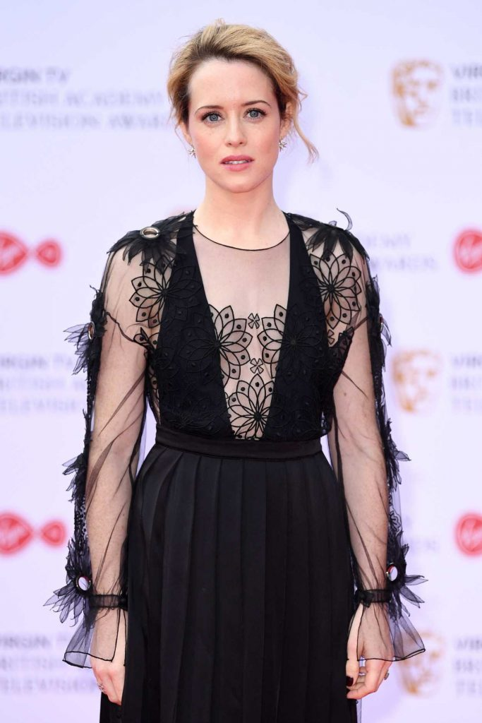 Claire Foy at he 2017 British Academy Television Awards in London 05/14/2017-5