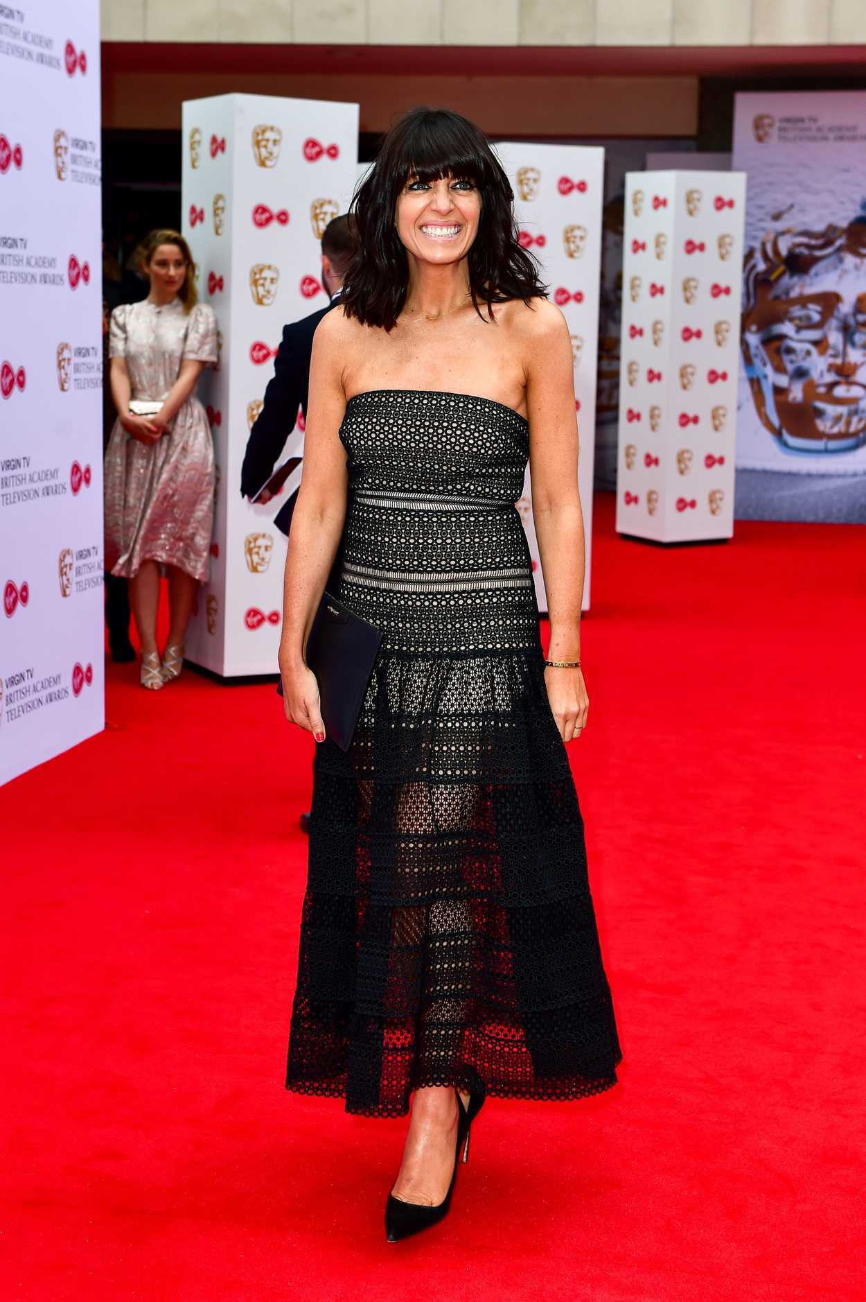 Claudia Winkleman At The 2017 British Academy Television
