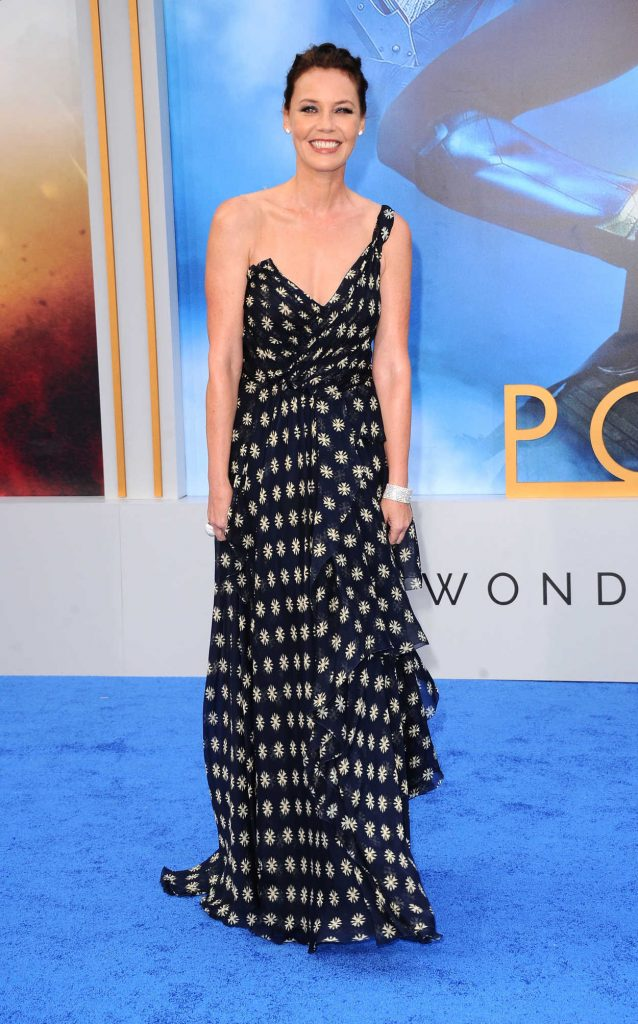 Connie Nielsen at the Wonder Woman Premiere in Los Angeles 05/25/2017-1