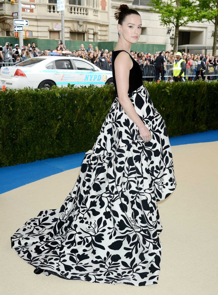 Daisy Ridley at the 2017 Met Gala at The Metropolitan Museum of Art in New York 05/01/2017-3