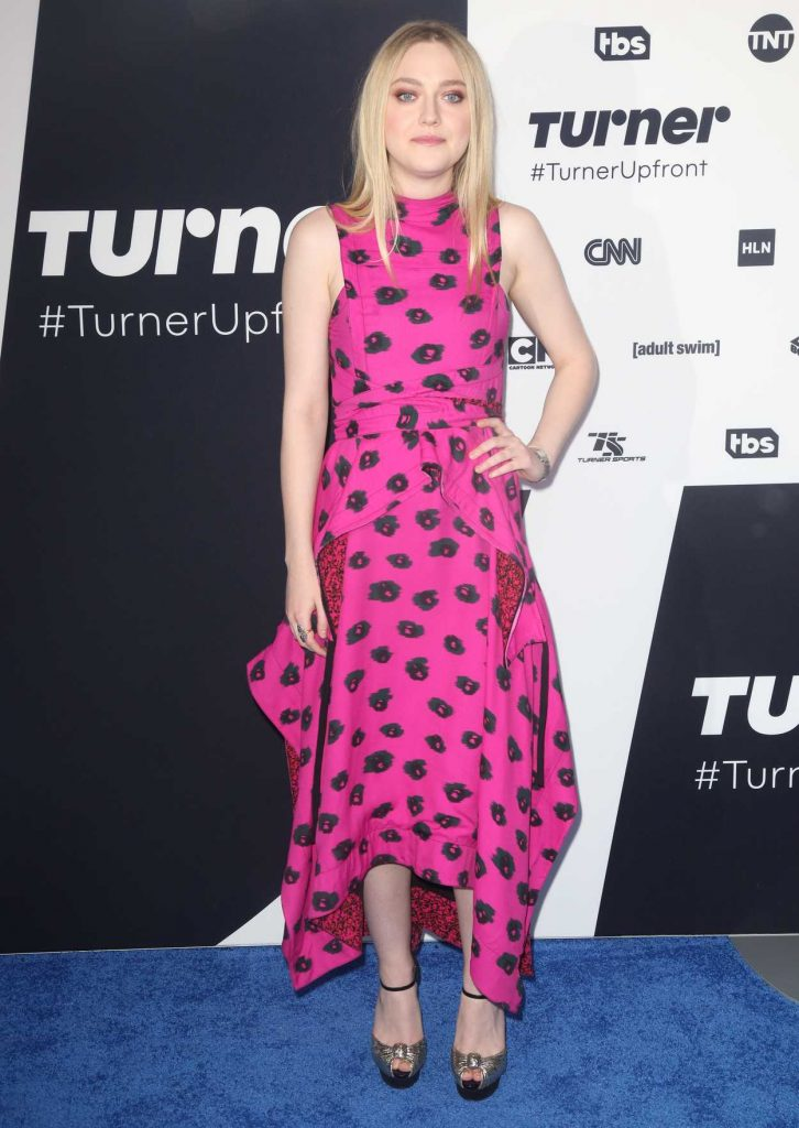 Dakota Fanning at the Turner Upfront Presentation in New York 05/17/2017-1