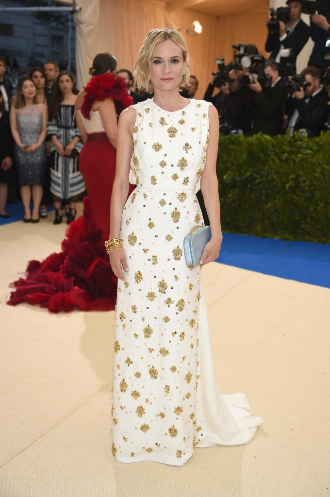 Diane Kruger at the 2017 Met Gala at The Metropolitan Museum of Art in New York 05/01/2017-1