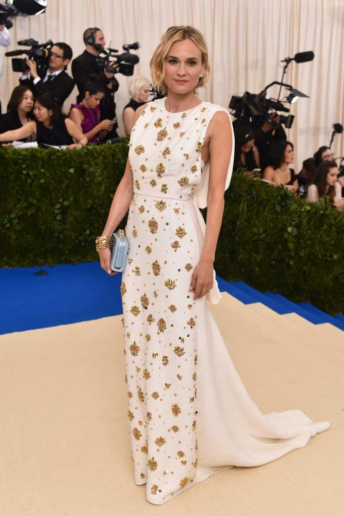 Diane Kruger at the 2017 Met Gala at The Metropolitan Museum of Art in New York 05/01/2017-3