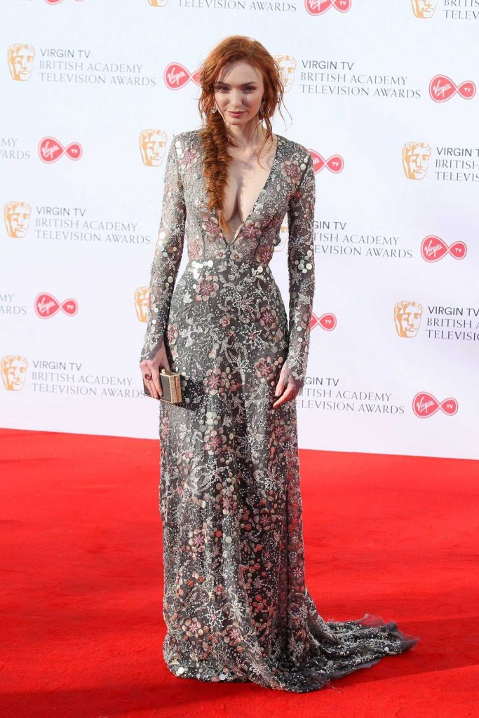Eleanor Tomlinson at he 2017 British Academy Television Awards in London 05/14/2017-1