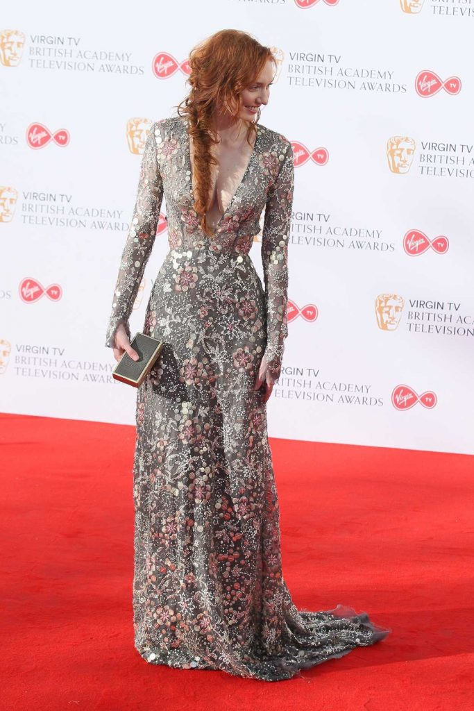 Eleanor Tomlinson at he 2017 British Academy Television Awards in London 05/14/2017-2