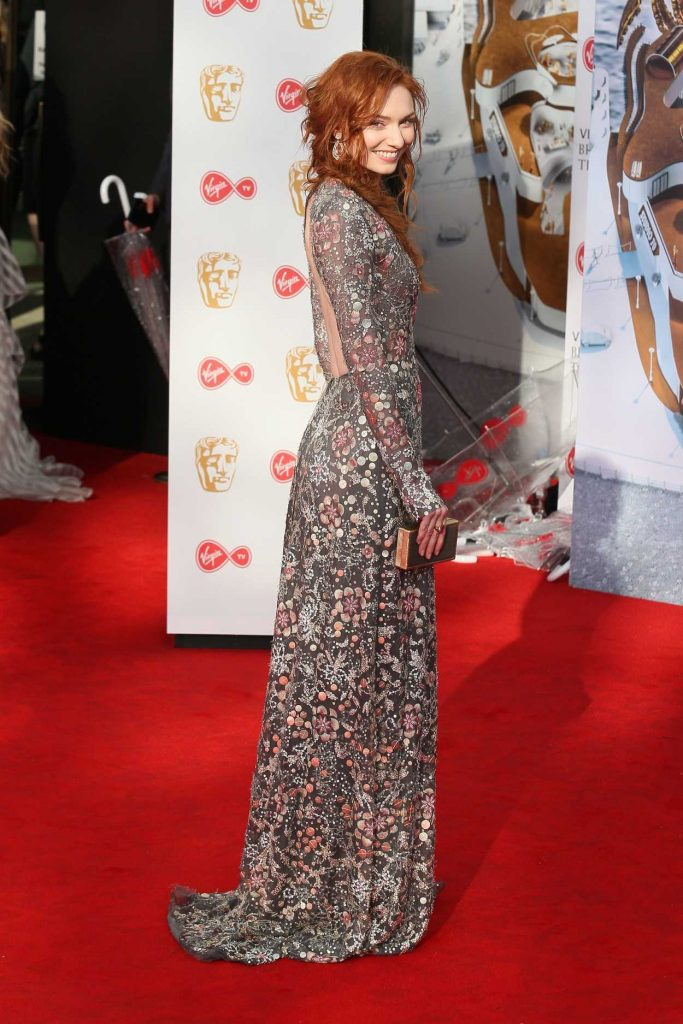 Eleanor Tomlinson at he 2017 British Academy Television Awards in London 05/14/2017-3