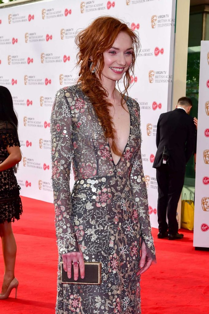 Eleanor Tomlinson at he 2017 British Academy Television Awards in London 05/14/2017-4