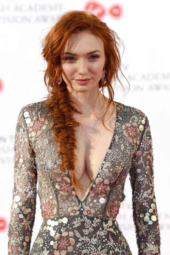Eleanor Tomlinson at he 2017 British Academy Television Awards in London 05/14/2017-5