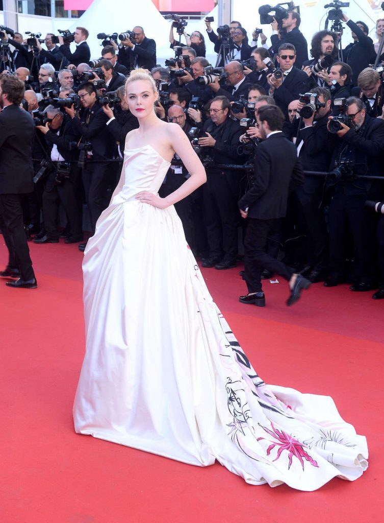 Elle Fanning at the 70th Cannes Film Festival Opening Ceremony in France 05/17/2017-1