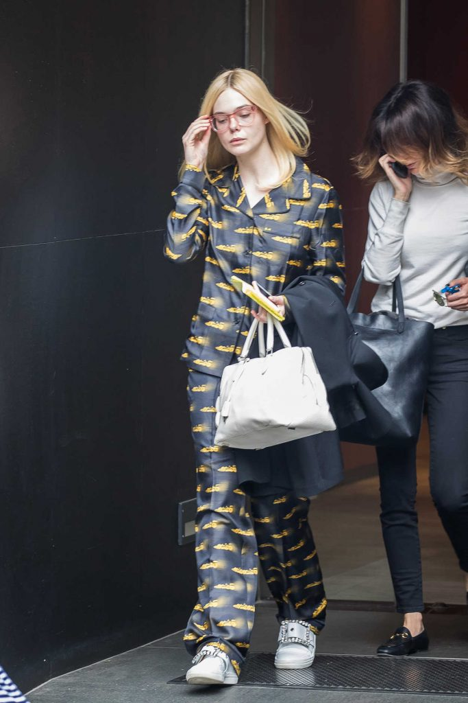 Elle Fanning Was Seen Out in New York 05/03/2017-1