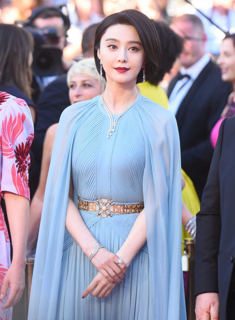 Fan Bingbing at the 70th Cannes Film Festival Opening Ceremony in France 05/17/2017-1