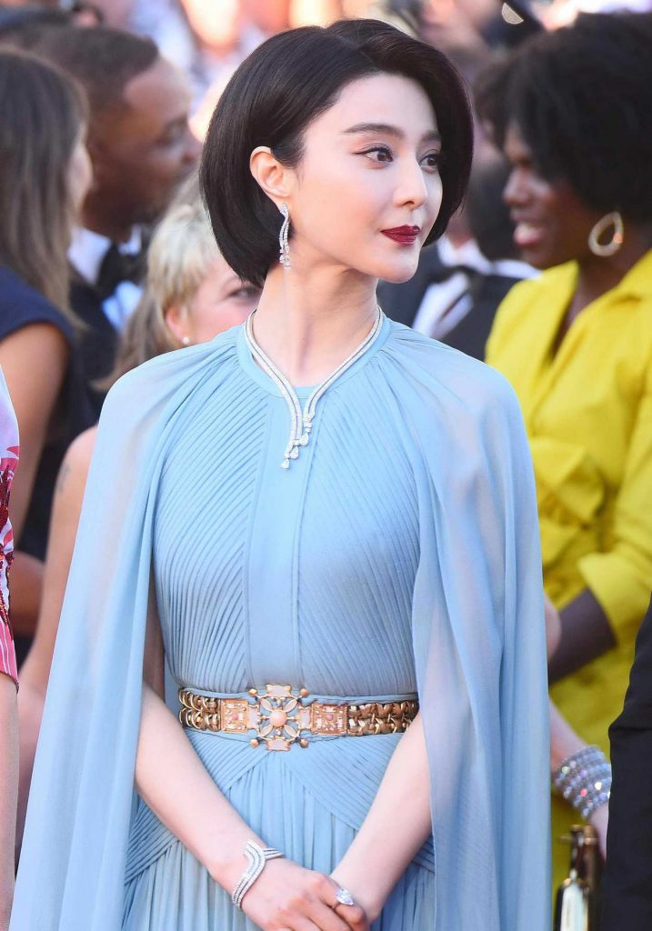Fan Bingbing at the 70th Cannes Film Festival Opening Ceremony in France 05/17/2017-4