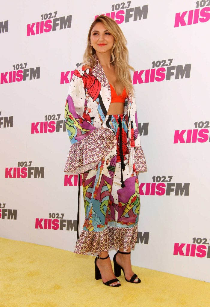Julia Michaels at the 2017 KIIS FM Wango Tango in Los Angeles 05/13/2017-2