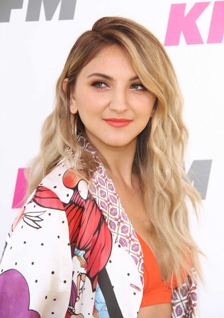 Julia Michaels at the 2017 KIIS FM Wango Tango in Los Angeles 05/13/2017-4